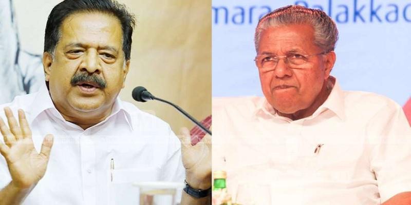 chennithala and pinarayi