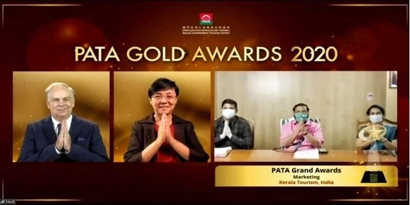 grant award kerala tourism