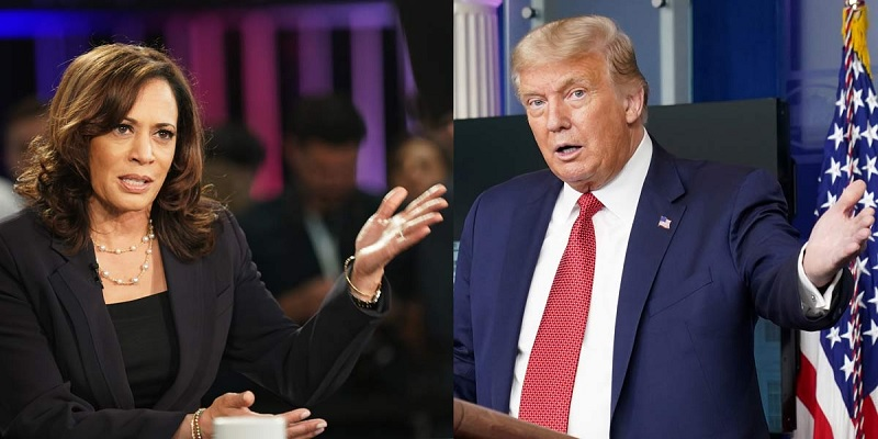 trump and kamala