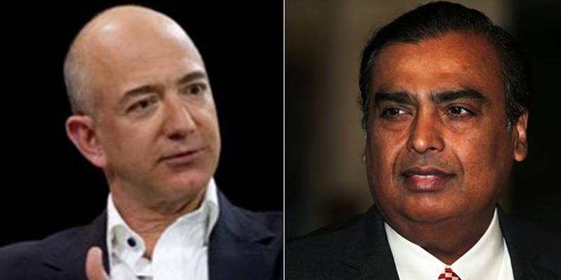 Ambani vs Amazone