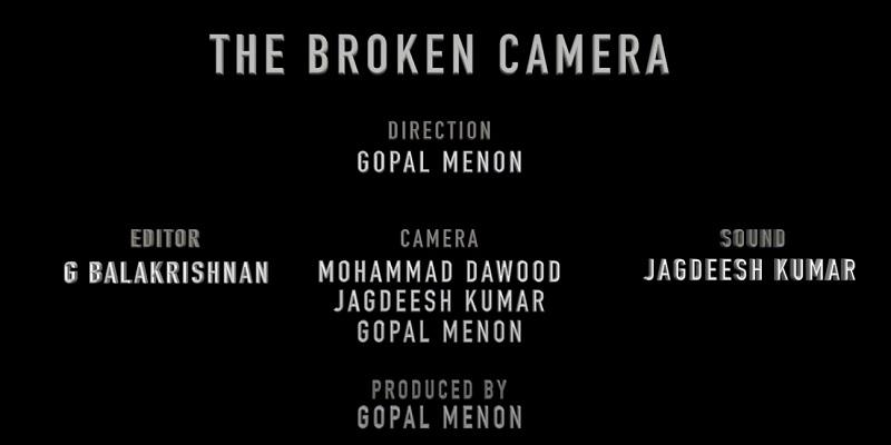 broken camera short film