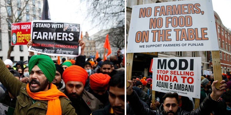Protest in London