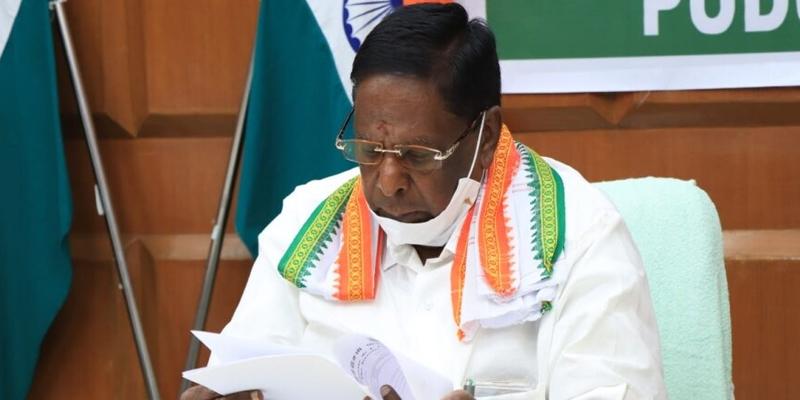 V Narayanaswamy govt
