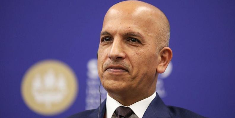 arrest of qatar finance minister amid