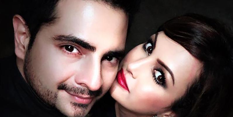 karan mehra and wife