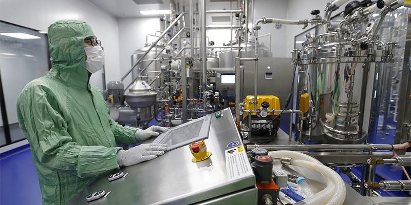 vaccine production unit